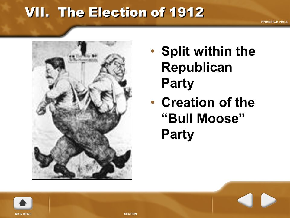 Split within the Republican Party