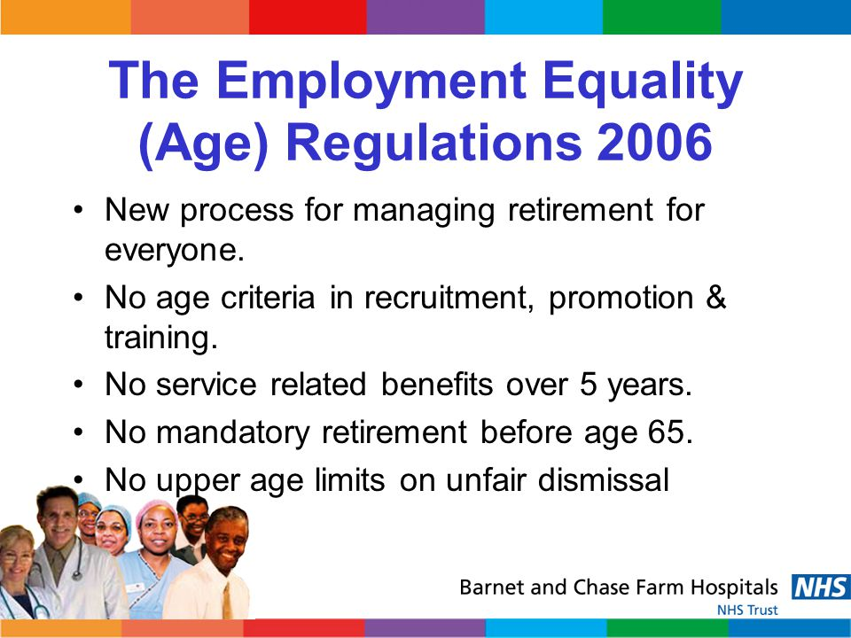The Employment Equality (Age) Regulations 2006