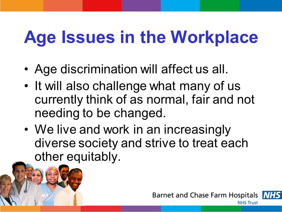 Age Issues in the Workplace