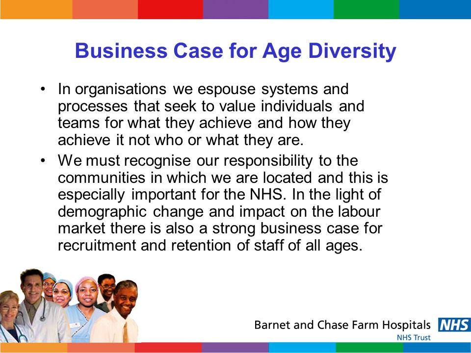 Business Case for Age Diversity