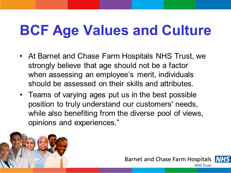 BCF Age Values and Culture