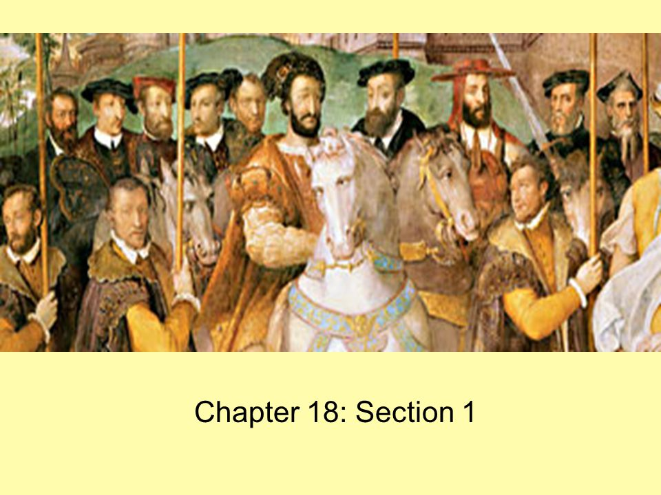 The Power of Spain Chapter 18: Section 1