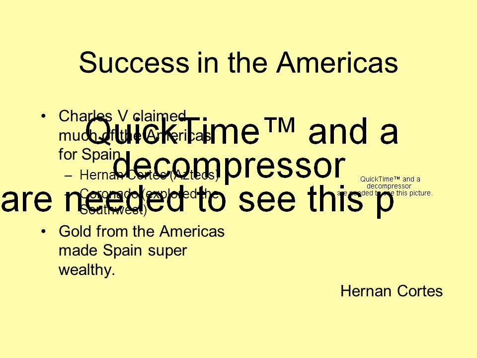 Success in the Americas