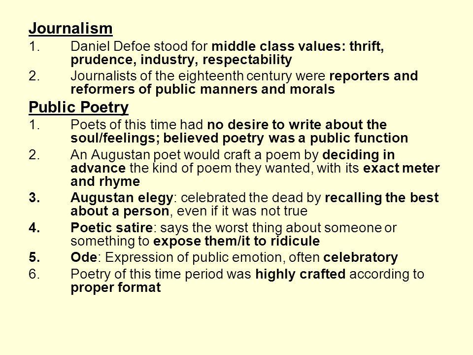 Journalism Public Poetry