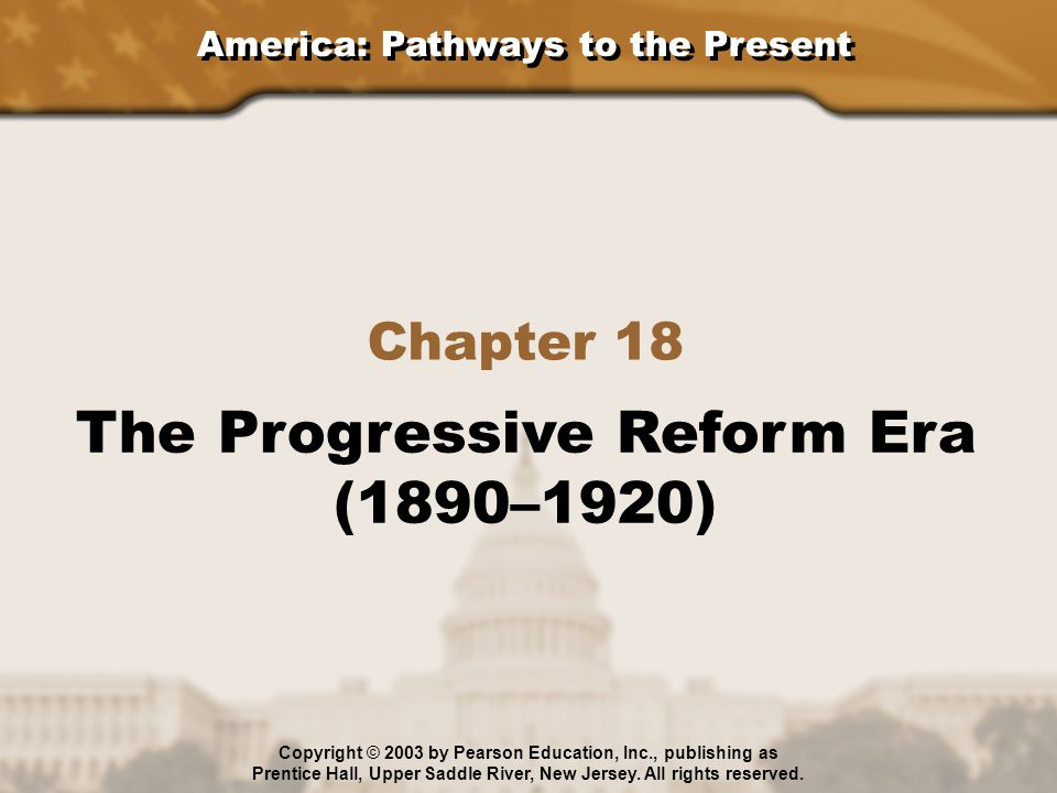 progressive reforms 1890 to 1915 The progressive presidents style of teddy roosevelt and on progressive reform regulation of industry under the terms of the sherman antitrust act of 1890.