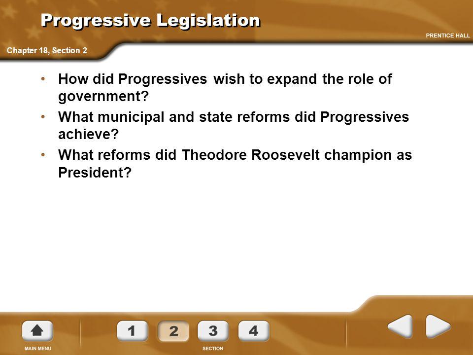 Progressive Legislation