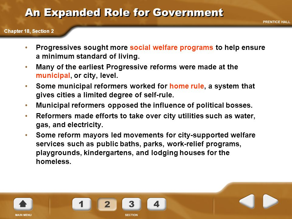 An Expanded Role for Government