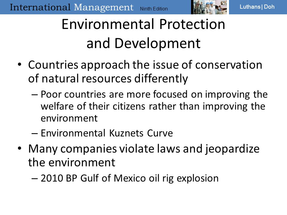 Environmental Protection and Development