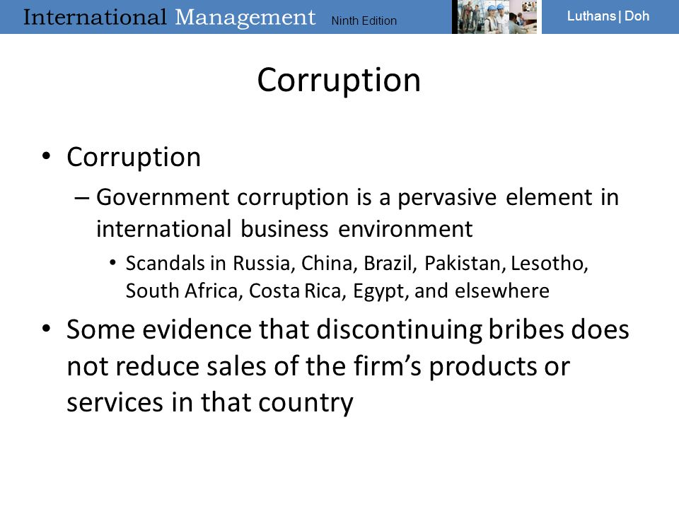 Corruption Corruption