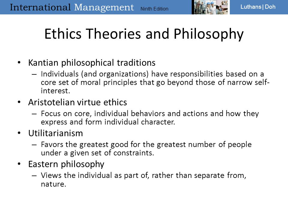 Ethics Theories and Philosophy