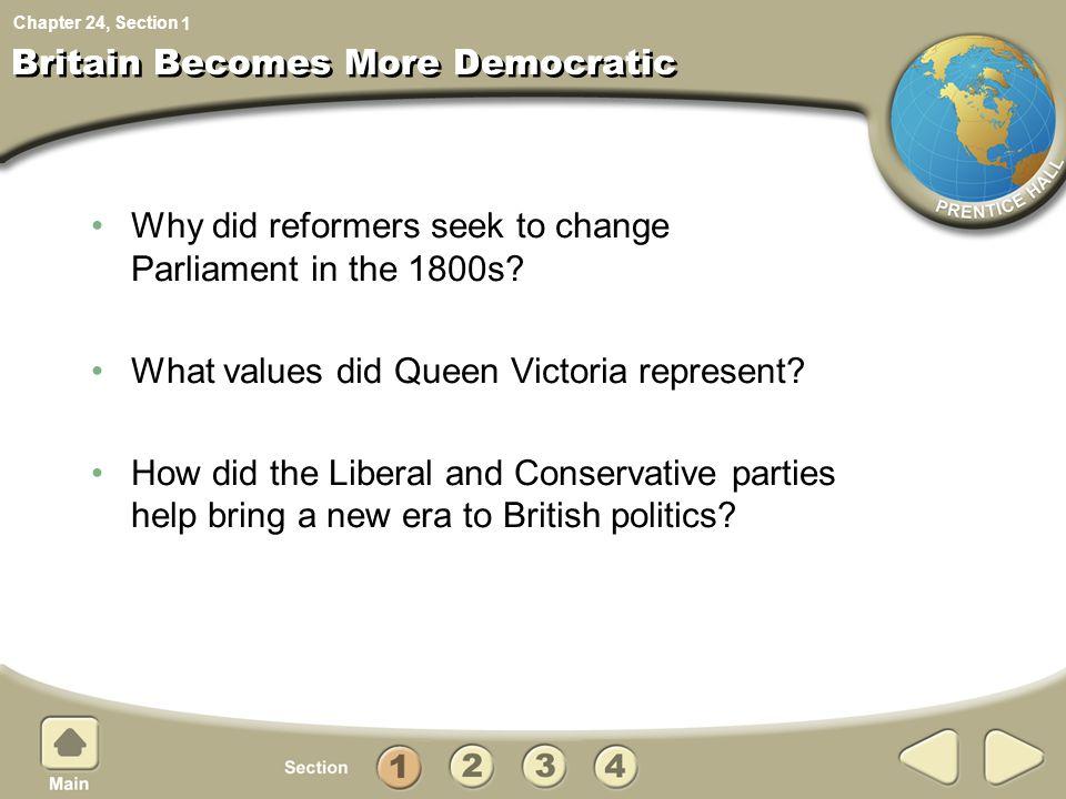 Britain Becomes More Democratic