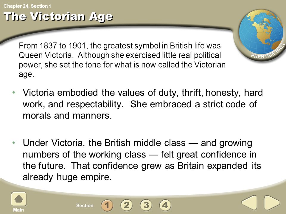 1 The Victorian Age.