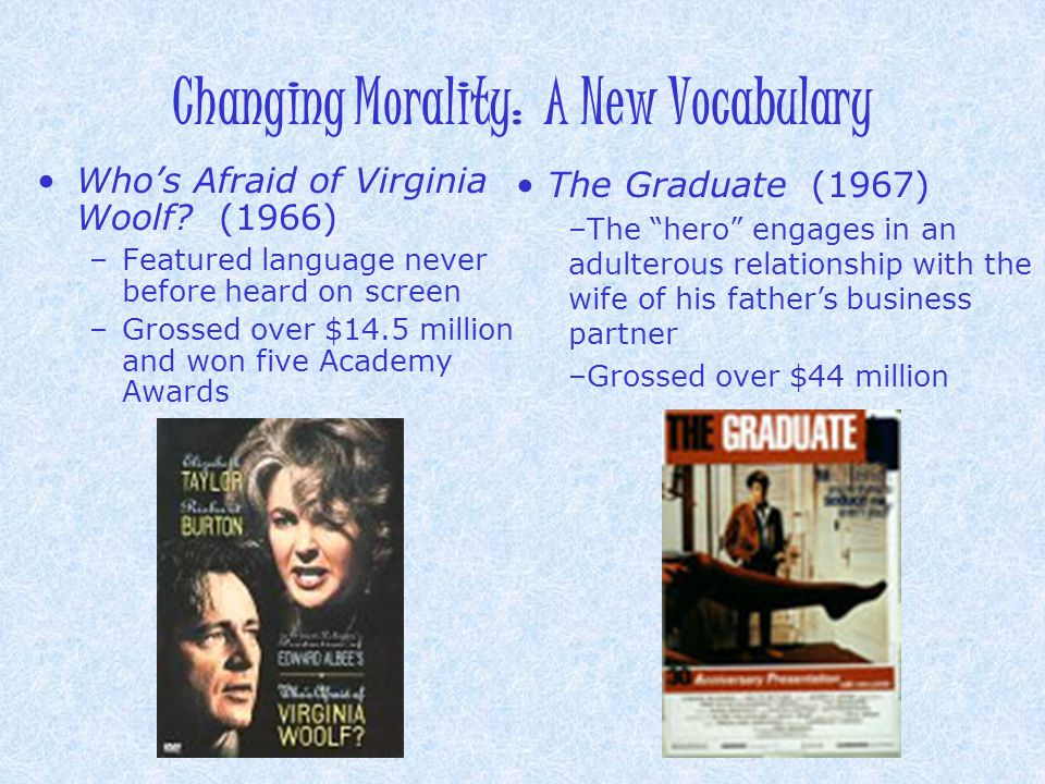 Changing Morality: A New Vocabulary