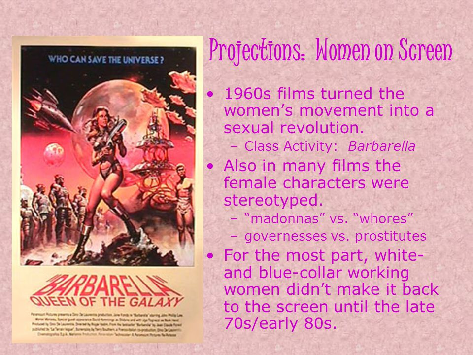 Projections: Women on Screen