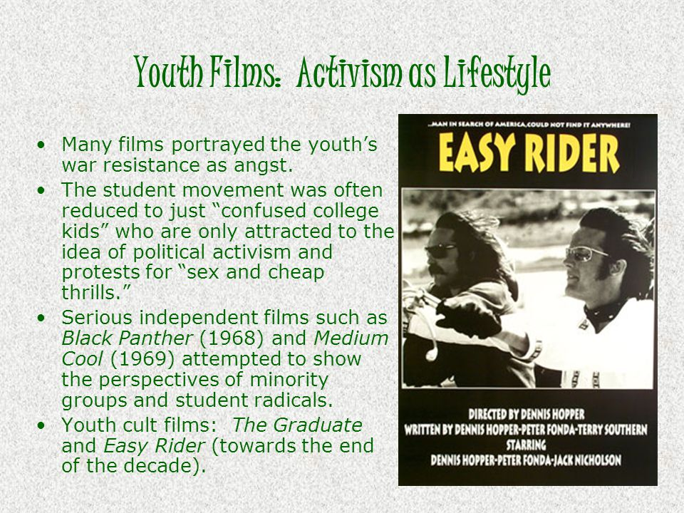 Youth Films: Activism as Lifestyle