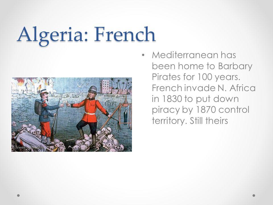 Algeria: French