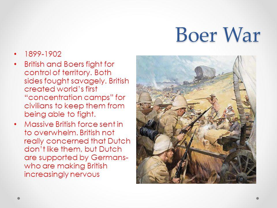 Boer War 1899-1902.