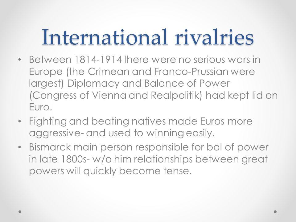 International rivalries