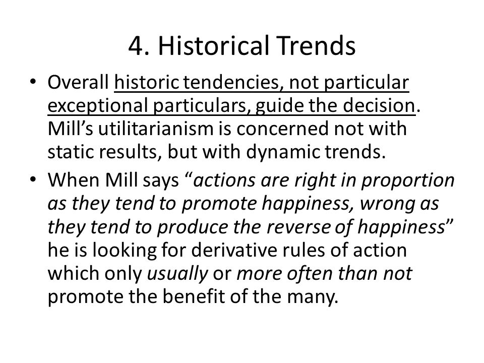4. Historical Trends