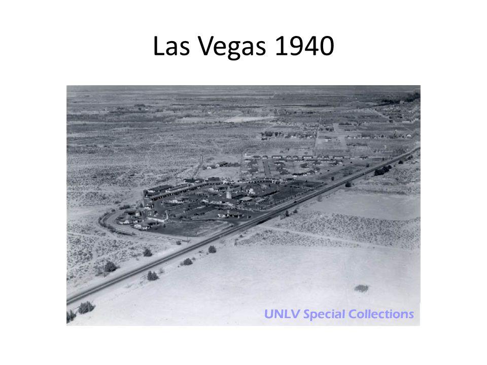 Las Vegas 1940