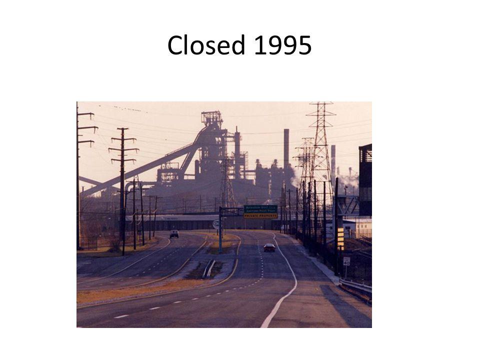 Closed 1995