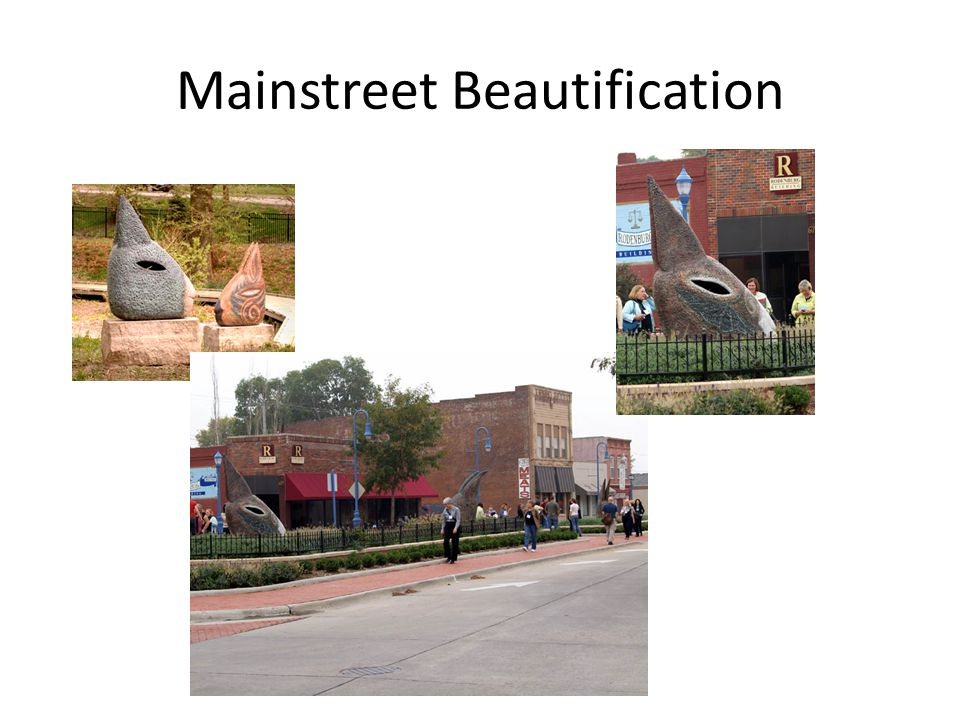 Mainstreet Beautification