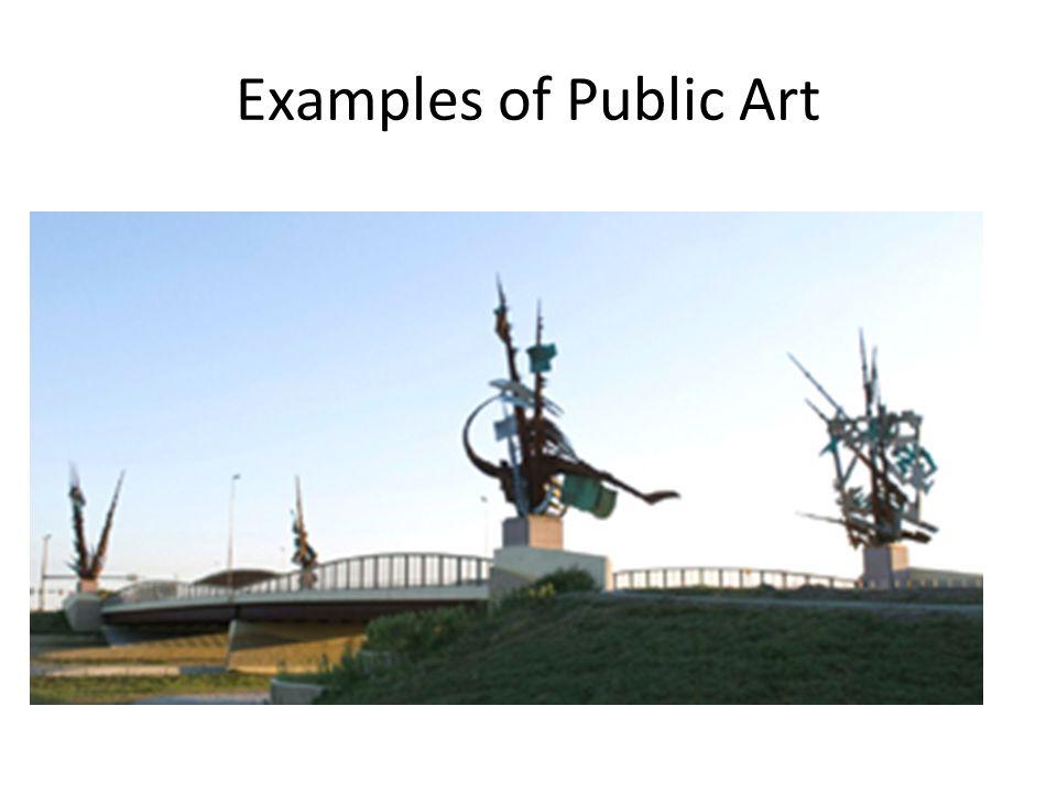 Examples of Public Art