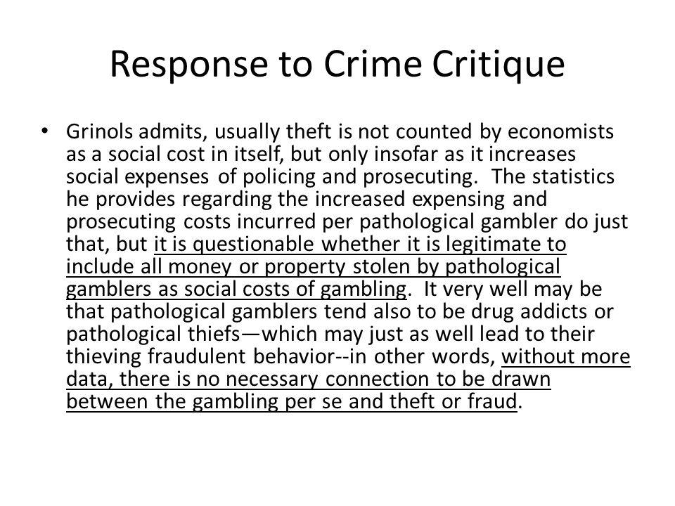 Response to Crime Critique