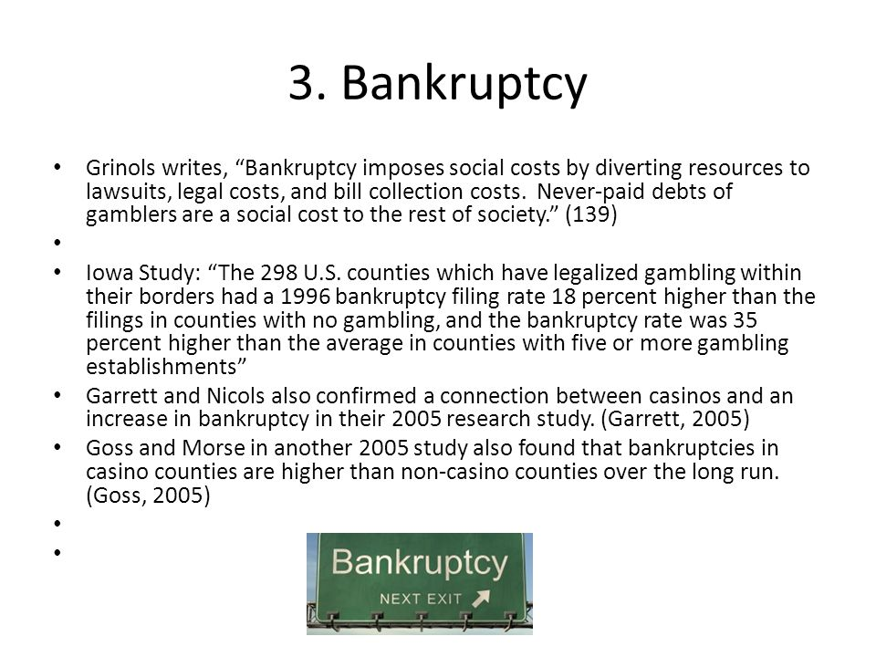 3. Bankruptcy