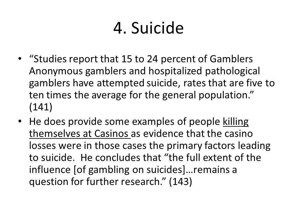 4. Suicide