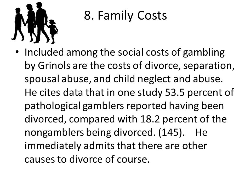 8. Family Costs