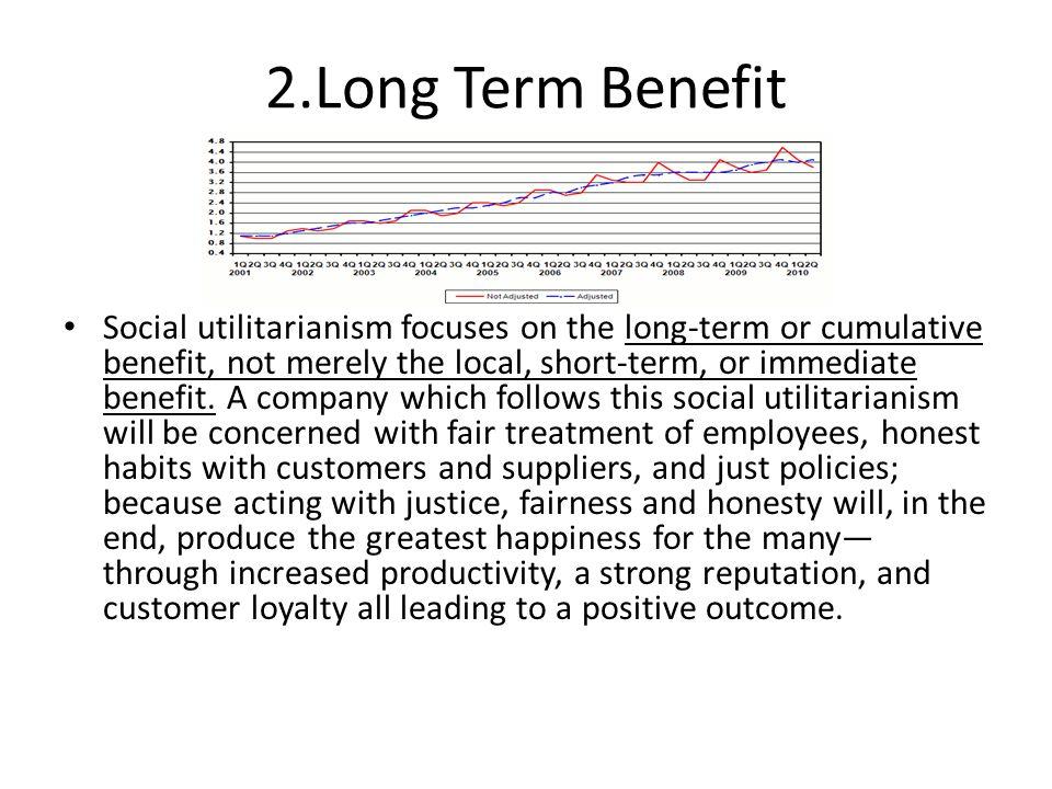 2.Long Term Benefit