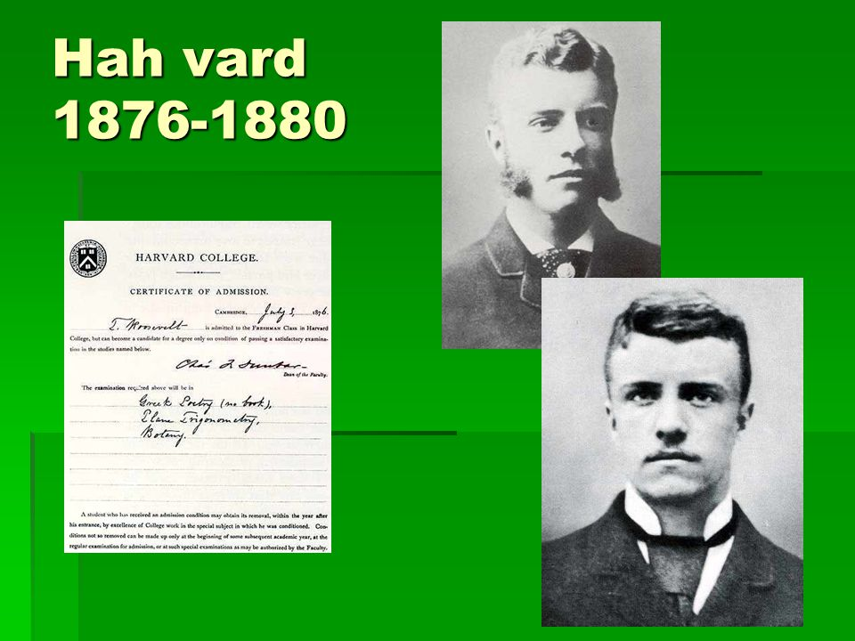 Hah vard 1876-1880