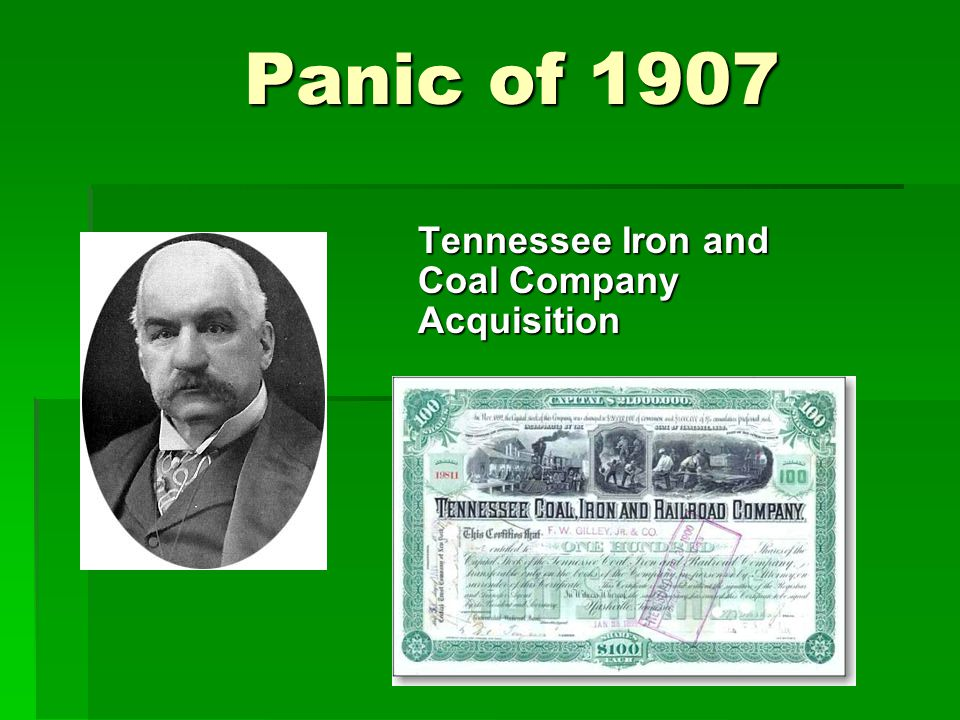 Tennessee Iron and Coal Company Acquisition