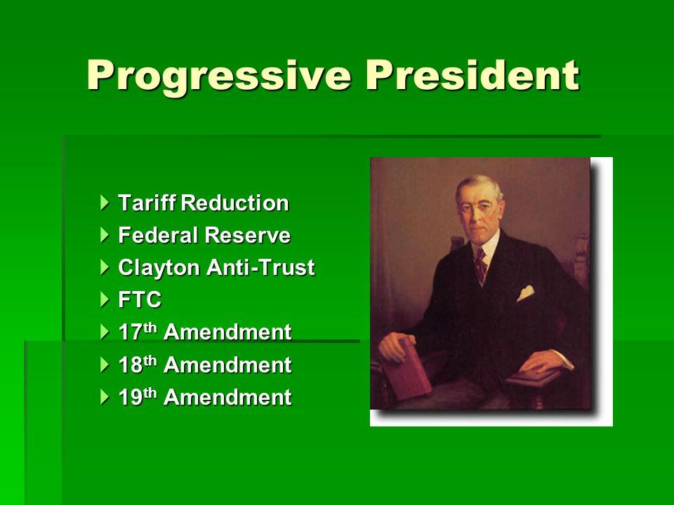 Progressive President