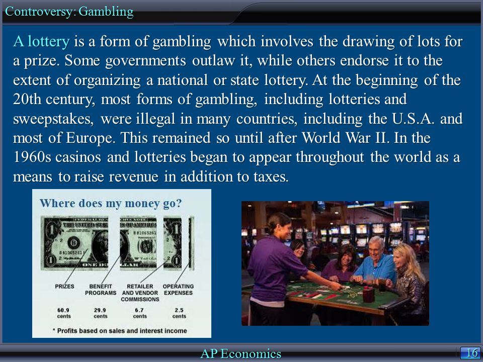 Controversy: Gambling