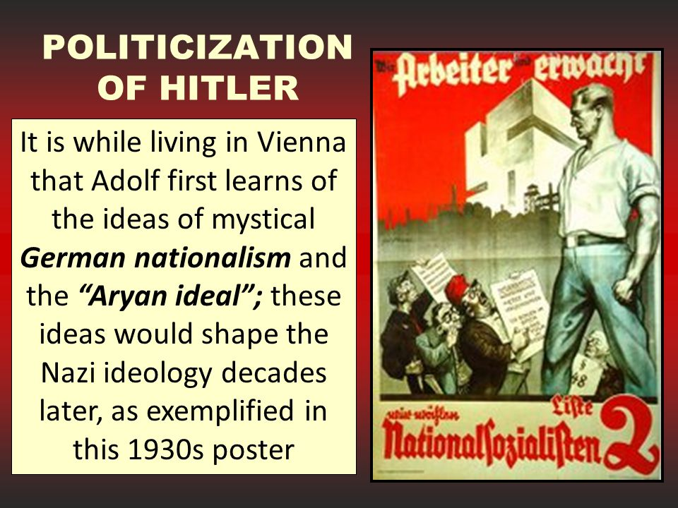 POLITICIZATION OF HITLER