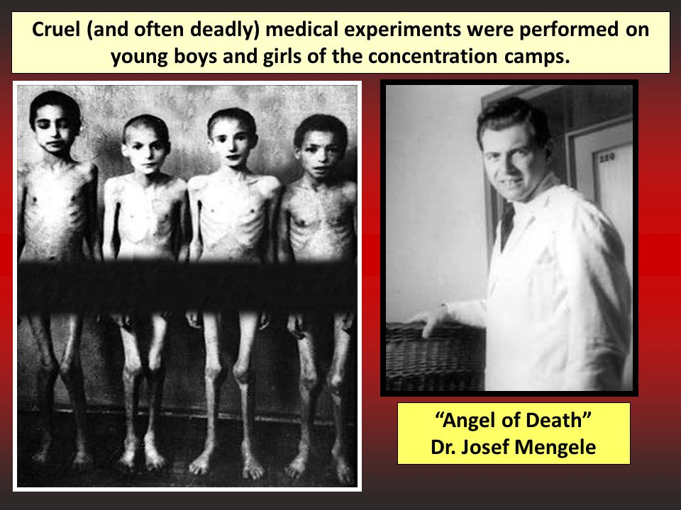 Angel of Death Dr. Josef Mengele