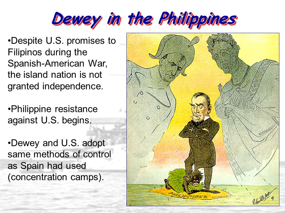 Dewey in the Philippines