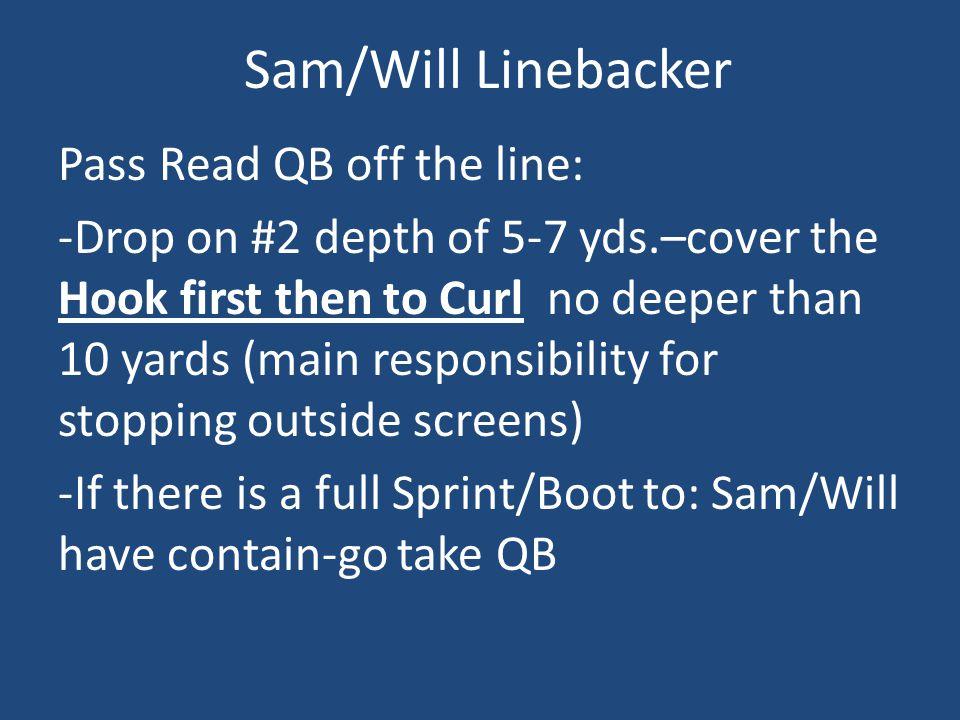 Sam/Will Linebacker