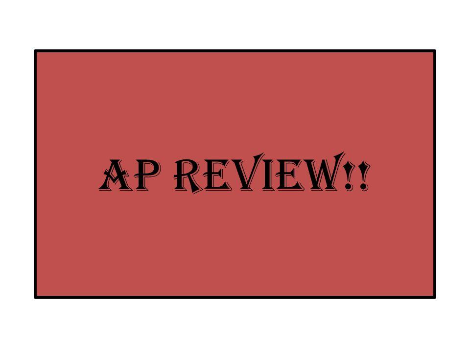AP Review!!