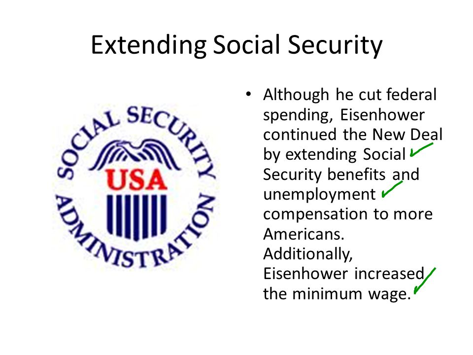 Extending Social Security