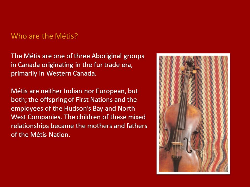 Who are the Métis