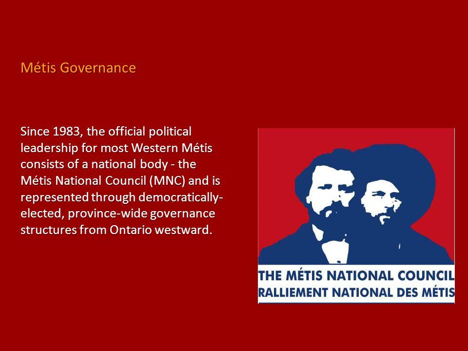 Métis Governance