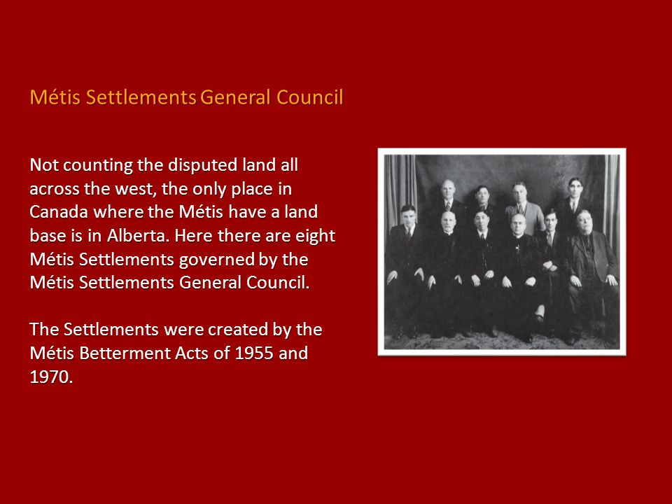 Métis Settlements General Council