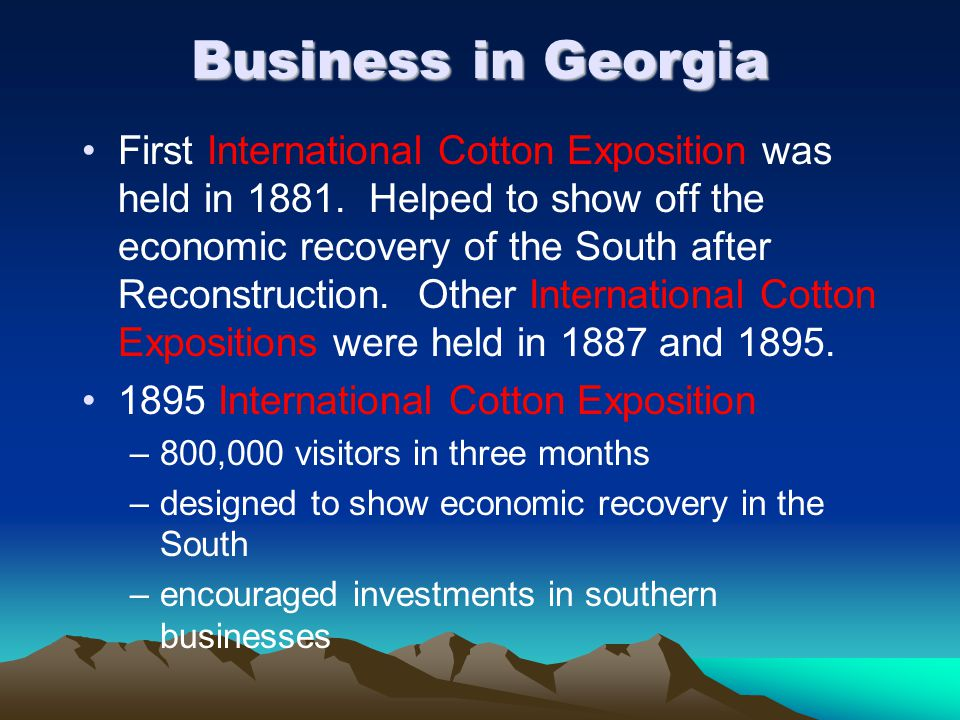 Business in Georgia
