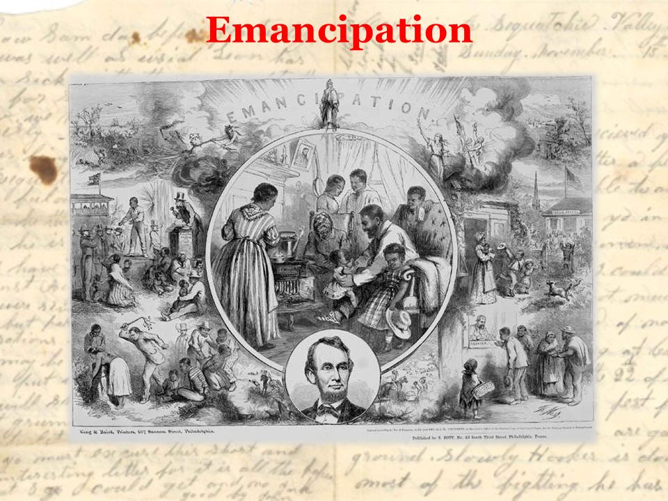 Emancipation Abraham Lincoln now had a victory to issue the Emancipation Proclamation.