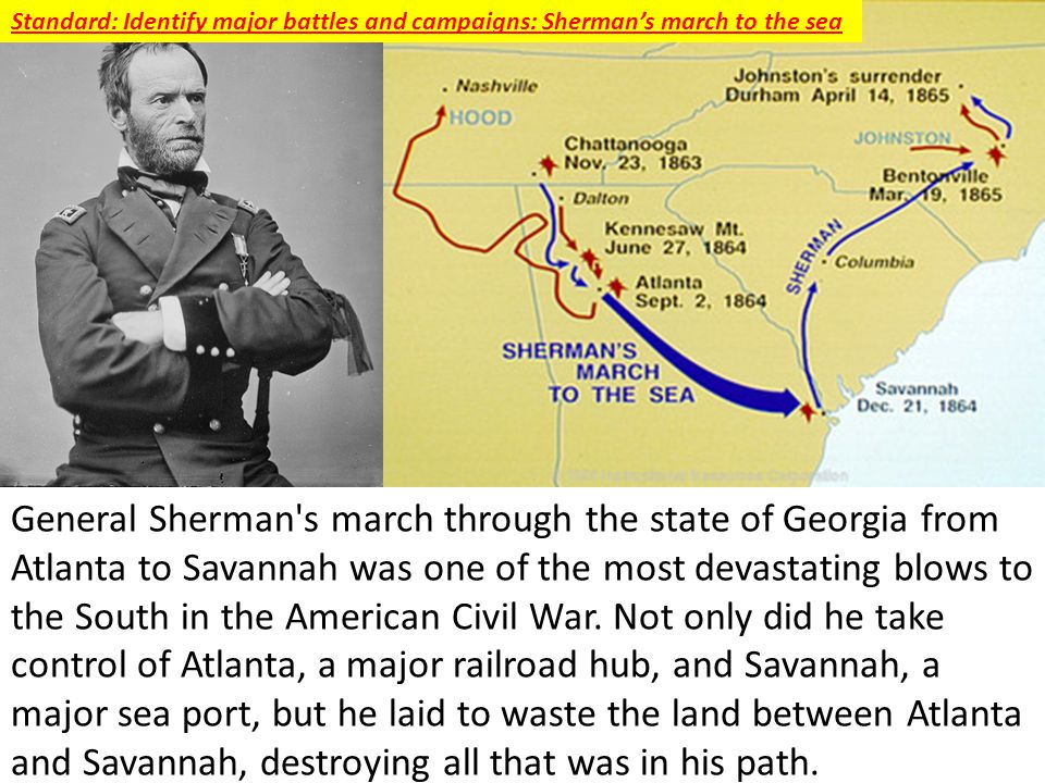 Sherman's March to the Sea,