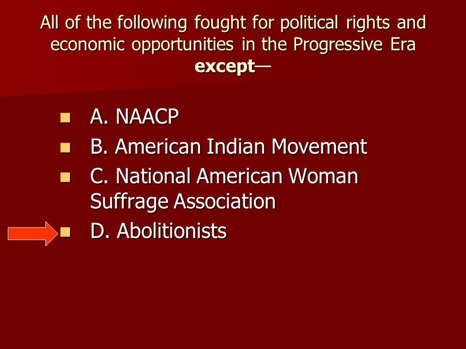 B. American Indian Movement