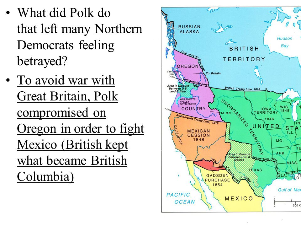 What did Polk do that left many Northern Democrats feeling betrayed